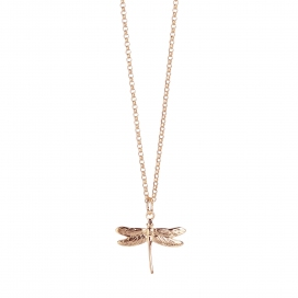 Muru Dragonfly Rose Gold Vermeil Pendant
