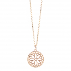 Muru Mandala Necklet Silver/Gold Vermeil