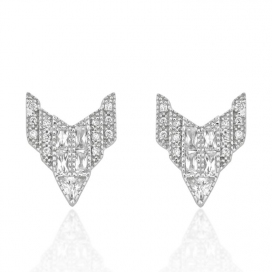 V Jewellery Chrysler Earrings