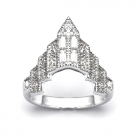 V Jewellery Chrysler Ring