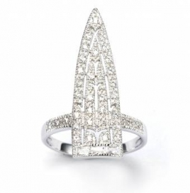 V Jewellery Royal Sword Ring