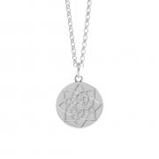 Muru Prosperity Silver Coin Necklace