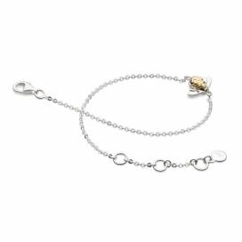 Kit Heath Blossom Single Bumblebee Gold Vermeil Bracelet