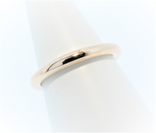 Anouska Ring 9ct Rose Gold Polished Hand Made By Mark Riley