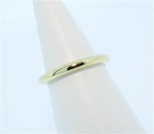 Anouska Ring Yellow Gold Polished Hand Made By Mark Riley