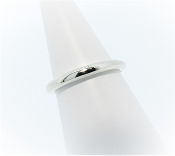 Anouska Ring Sterling Silver Polished Hand Made By Mark Riley