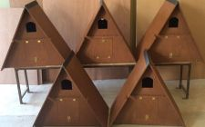 A Frame Barn Owl Boxes | gardenature