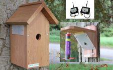 Wireless Camera bird box and feeder
