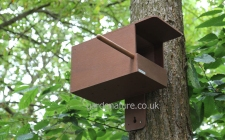 Kestrel box with camera |gardenature.co.uk