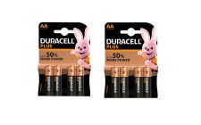 8x AA Duracell Plus Batteries