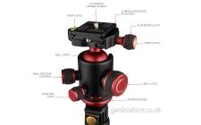 alloy camera tripod