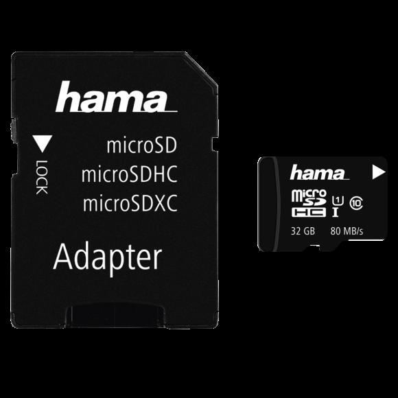 Hama MicroSDHC card