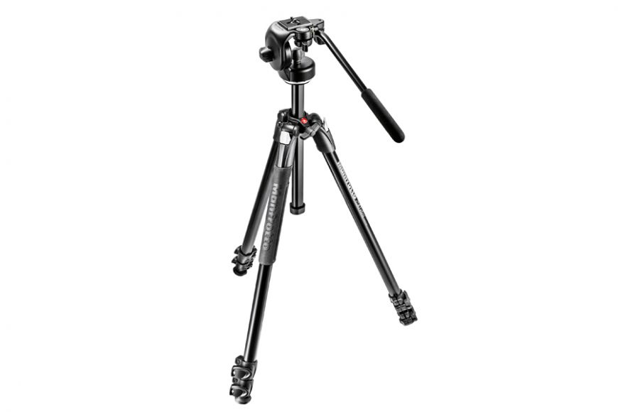 290 xtra Alu Tripod with fluid head