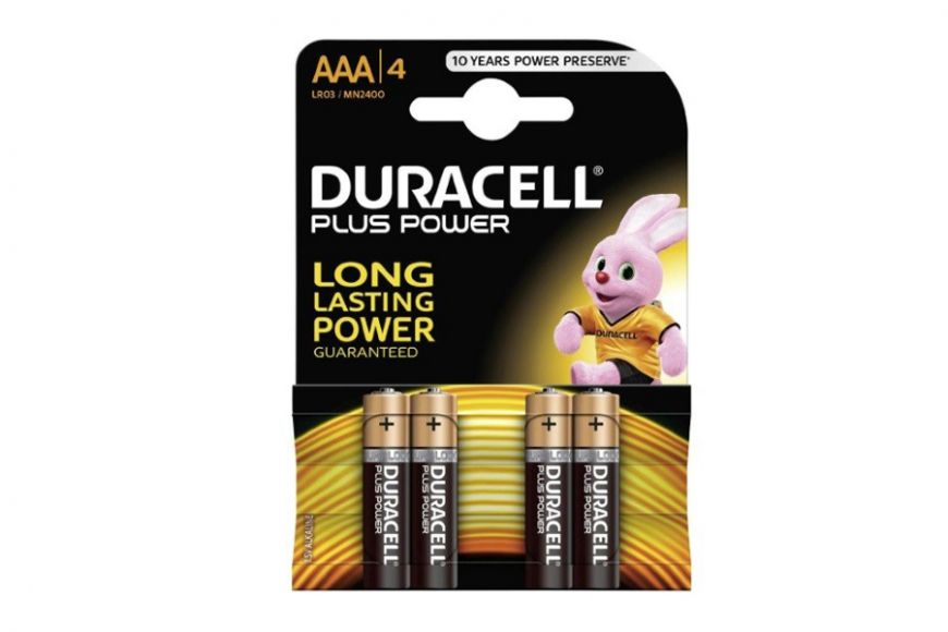 Duracell AAA batteries 4pack
