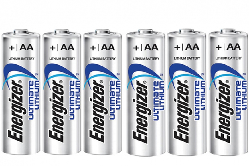 AA Lithium battery x6, gardenature.co.uk