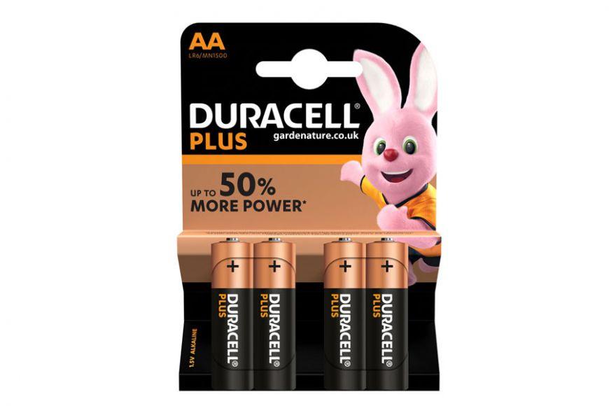AA Duracell Plus Power Batteries