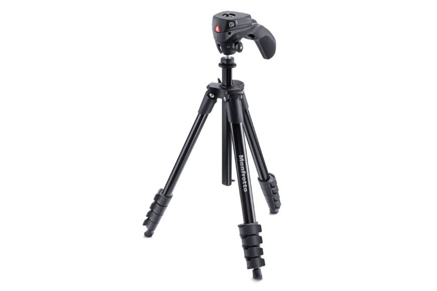 Compact Action tripod with hybrid head