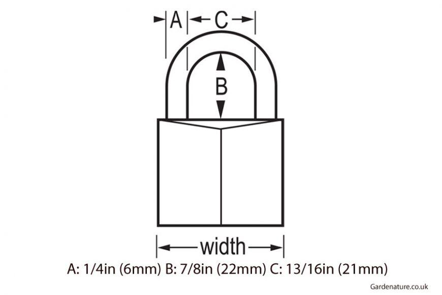 Masterlock outdoor padlock 140d