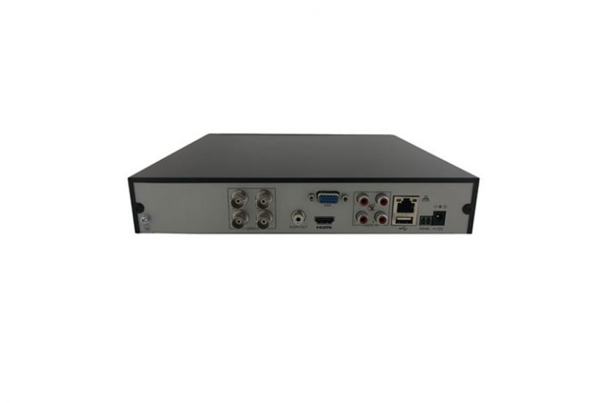 UNV 4 channel Hybrid NVR with 2 IP