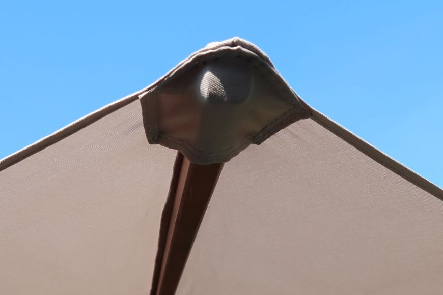 parasol stitched pockets