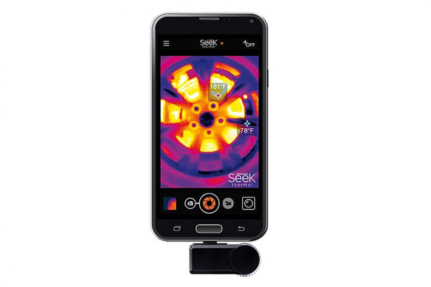 thermal image adaptor for phones