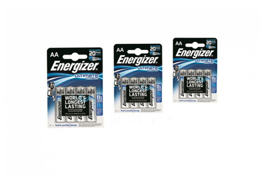 AA Lithium 12 pack batteries