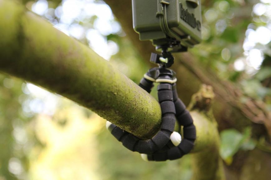 small bendy tripod. gardenature.co.uk