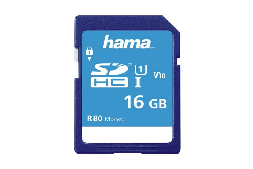Hama 16GB SDHC Card class 10