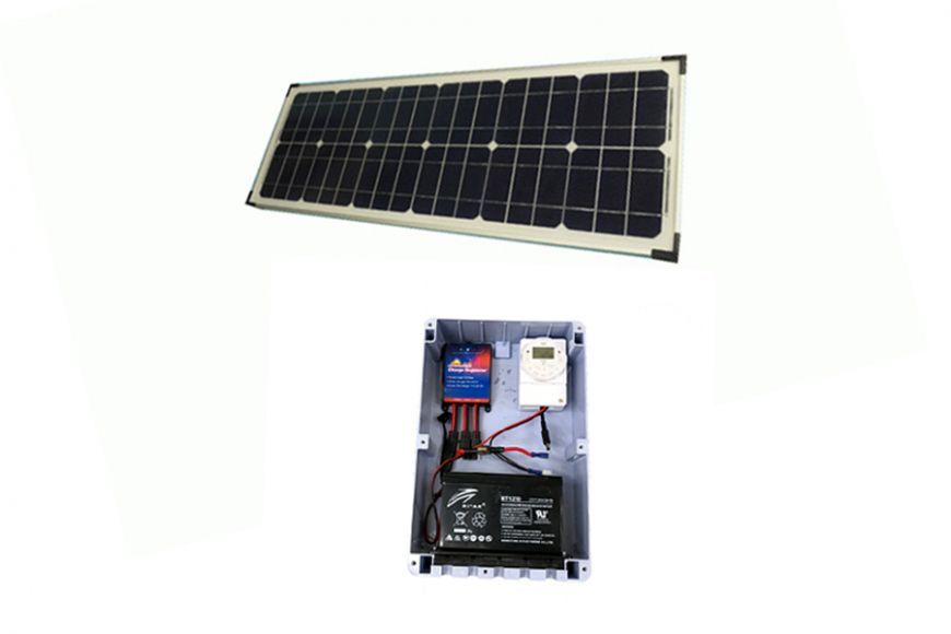 12v solar charger kit | gardenature.co.uk