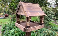 solid bird tables | gardenature