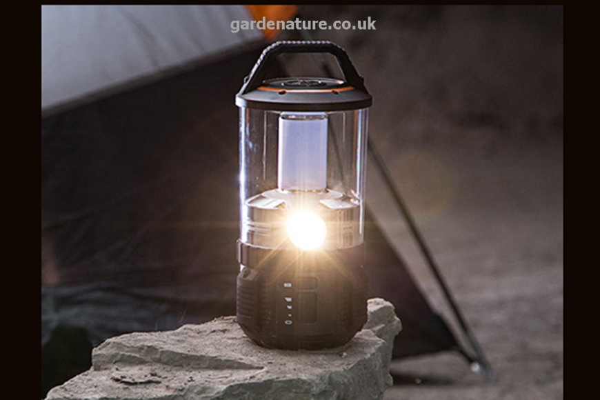 Rubicon camp light | gardenature.co.uk