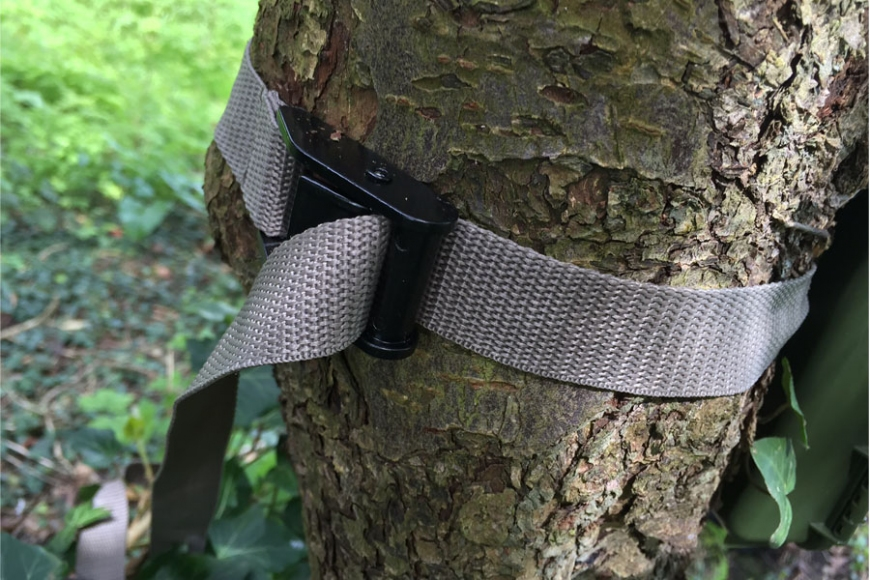 bushnell  camera tie. gardenature.co.uk