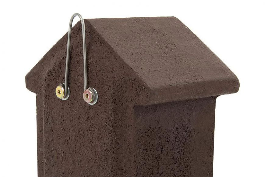 woodstone open fronted bird boxes
