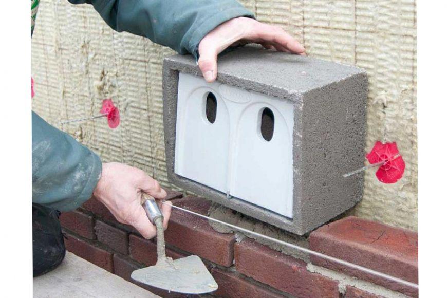 build-in sparrow house. Gardenature.co.uk
