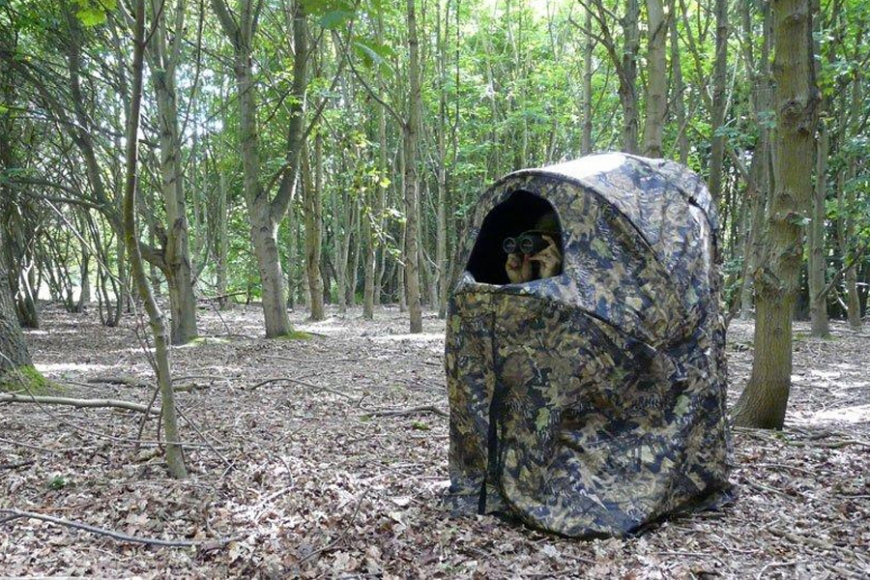 2 man camo hide. gardenature.co.uk