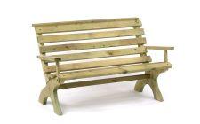 Pine 2 Seater Garden Bench