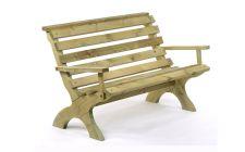 wooden bench for garden | gardenature