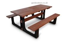 6 - 8 seat picnic bench