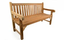 4ft teak bench for garden