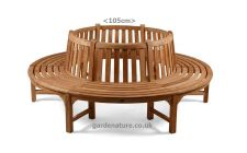 full round tree seat