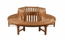 Large Round Teak Tree Seat