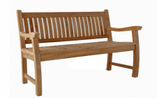 3 seater teak bench