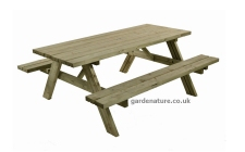 8 seater picnic table
