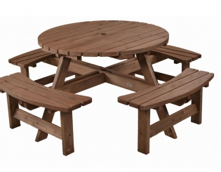 Picnic Tables - Wooden Picnic Tables | Gardenature