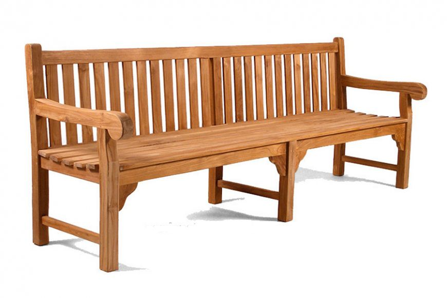 Queensbury Teak Bench 8ft