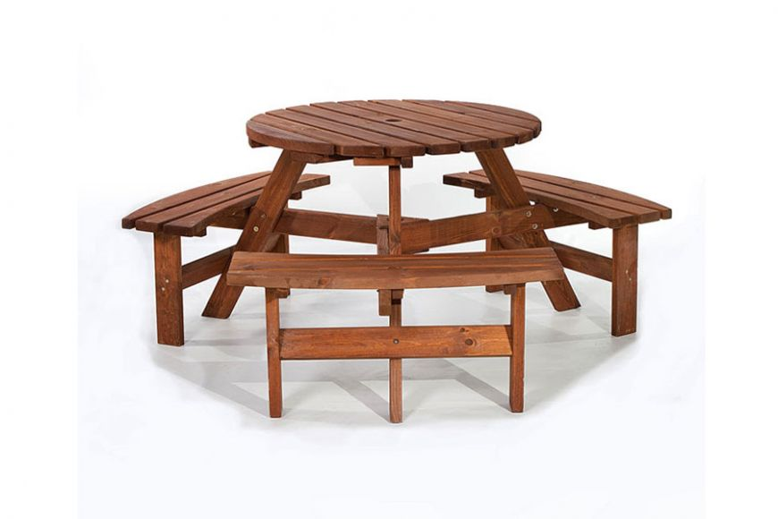 Brentwood 6 seater picnic table