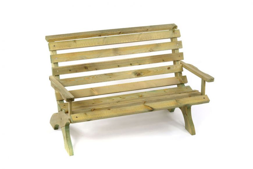 2 person garden bench