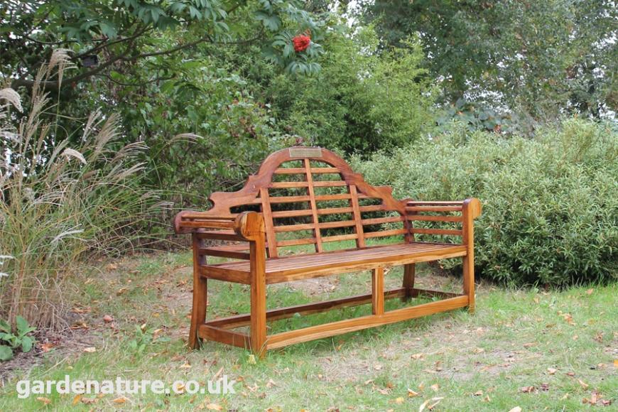 lutyen garden bench seat