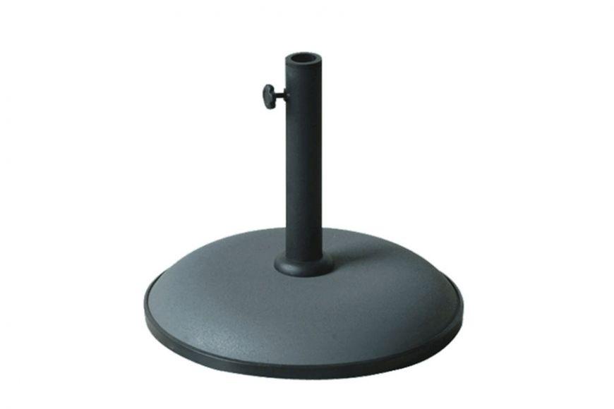 Grey parasol base 15kg