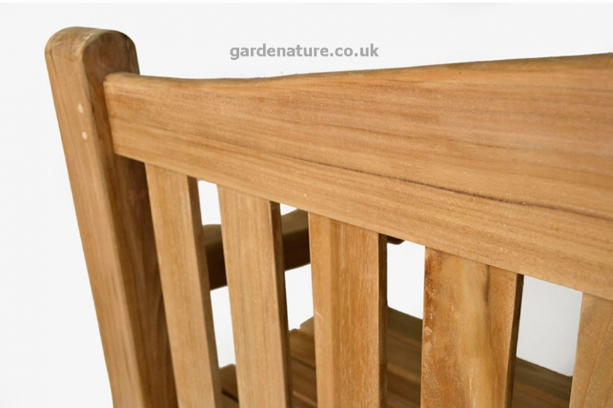 Heavy duty garden bench